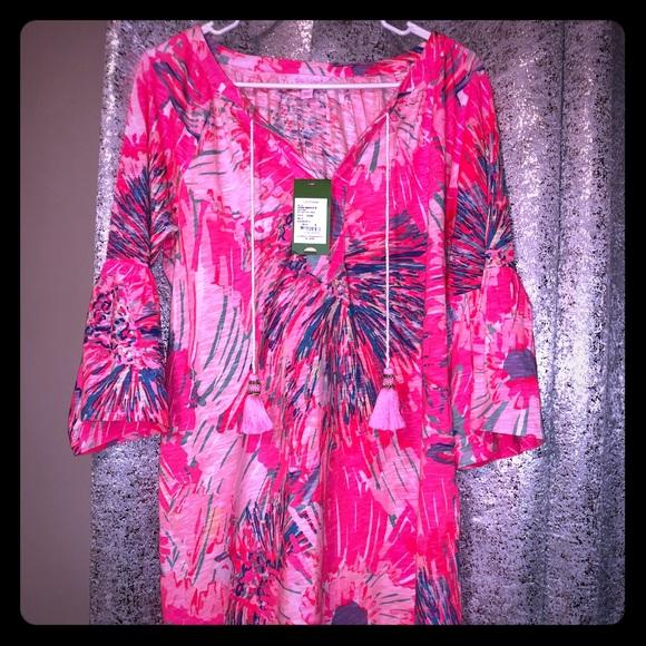 b49bb926eab Lilly Pulitzer Dresses | Nwt Del Lago Tunic Dress | Poshmark